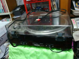 Denon DP-47F Turntable Direct Drive Turntable Vintage working Tested Brown