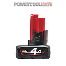 Milwaukee M12B4 12v 4.0Ah Lithium-Ion Battery