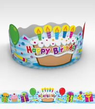 CD 101021 Happy Birthday Crowns Classroom Decorations Teacher Supply