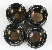 KODAK COLOR PRINTING EKTAR LENS 93MM F4.5 SET OF 4