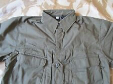 ARKTIS A112 GREEN olive Hot Climate SHIRT Short Sleeve Army Camo bushcraft MED