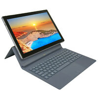 "Nuvision 11.6"" Touch Intel Celeron N3350 Win 10 32GB 2-in-1 Tablet w/ Keyboard"