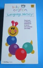 BABY EINSTEIN ~ LANGUAGE NURSERY ~ VHS, 2002 ~ Ages 0 - 2 ~ 1+ SHIP
