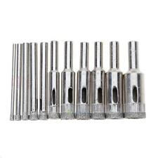 10pcs/set 3mm-18mm Diamond Hole Saw Tile Ceramic Glass Marble Coated Drill Bit