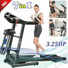 🔥3.25HP Treadmill Electric Folding Under Desk Running Machine with Bluetooth/P photo