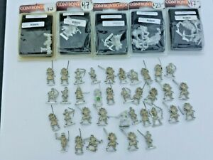 41 Rackham Confrontation Miniatures, 5 new in package +36 looses