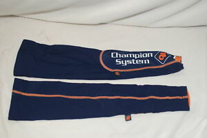 Champion System Pro Cycling Arm Warmers Mens XS Lycra X-Small