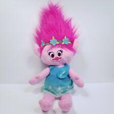 "Princess Poppy Trolls Movie Cuddle Pillow Doll Dreamworks Large 22"" Soft Pink"