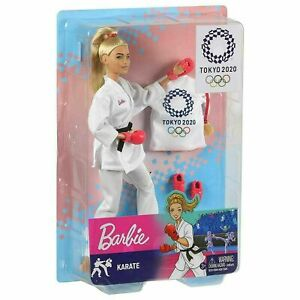 2020 Limited Edition Official Tokyo Olympic Games Karate Barbie Doll