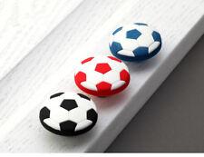 Black Football Childrens Knob/Handle for Wardrobe Drawer Cabinet Cupboard Kids