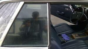 81 MERCEDES 380 Right RH Passenger Rear Quarter Glass Window