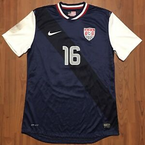Authentic Nike RACHEL BUEHLER VAN HOLLEBEKE USWNT USA Match Issued Jersey Sz L