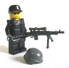 Lego Custom SWAT SNIPER Minifigure Brickarms M21 Police Urban Combat