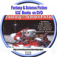 631 PDF F&SF DVD Fantasy & Science Fiction Comic Magazine Pulp Fiction