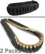 2X Shotgun bandoleer Rifle Sling holds 56 shells for 12 or 20 gauge 56 Rounds 2X