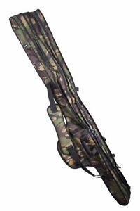 Cult Tackle DPM Camo Standard 10ft 3 Rod Sleeve Bag Carp Fishing Luggage