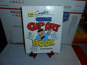 The Complete Church Clip Art Book by Rick Bundschuh 1990 Paperback