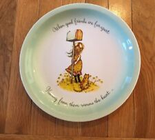 Older American Greetings Holly Hobbie Collectors edition Collector Plate-Friend