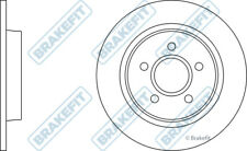FORD FOCUS C-MAX 2x Brake Discs (Pair) Solid Rear 1.6 1.6D 03 to 07 280mm Set