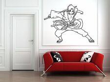 Wall Vinyl Sticker Decal Anime Manga  Sasuke Uchiha Naruto Shippuden Sword V052
