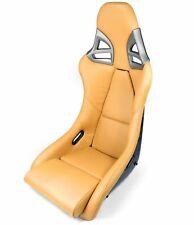 Carbono Asiento-Deportivo En 997-GT3-LOOK Cuero Beige - Carbono