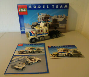 ( GO )  Lego 5580 Highway Rigg Model Team100% Komplett Mit OVP & BA GEBRAUCHT
