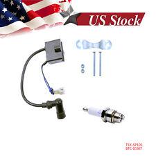 CDI Ignition Coil Spark Plug 50cc 66cc 80cc Engine Motor Motorized Bicycle Bike