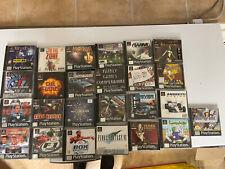 ps 1 Spielesammlung PlayStation 1 Games Spiele