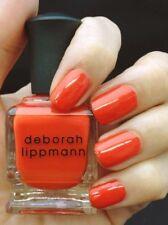 NEW! Deborah Lippmann DON'T STOP BELIEVIN' Polish Lacquer - full size ~tangerine