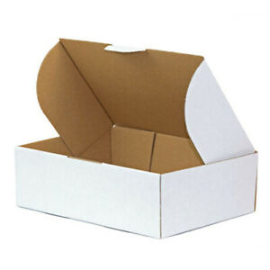 200x Shipping Carton Mailing Box 220 x 160 x 77mm A5 BX1 Diecut Cardboard Mailer