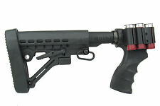 REMINGTON 870 Pistol Grip 6 Position Tactical Stock w/Butt Pad & QD Sling Swivel