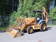 """2000 Case 580L Series II Backhoe Wheel Loader Tractor 83"""" Bucket 4-390 Diesel"""