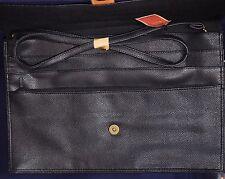 Vintage Briefcase Lady Stetson Cosmopolitan Bag Travel Black NOS MINT