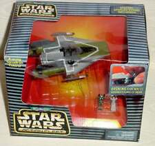 STAR WARS ACTION FLEET ROGUE SQUADRON A-WING GREEN - FACTORY SEALED BOX