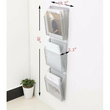 Dcp Universal Mesh Three-Pack Wall Files with Hanger, Letter, Silver