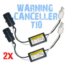 2 RESISTANCE CABLE BOITIER CORRECTION ANTI ERREUR LED W5W T10 - PLUG AND PLAY 2E