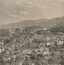 Ouro Preto - General view. Brazil 1885 old antique vintage print picture