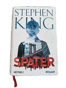 """Stephen King Buch """"Später"""" 2021"""