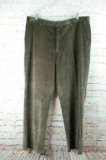 Orvis Mens Corduroy Pants Sz 40x32 Brown New
