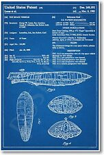 Star Wars Rebel Transport Patent - NEW Invention Patent Movie Art POSTER