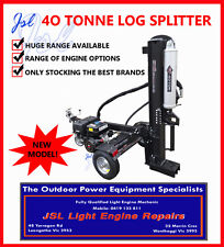 NEW 40 Ton Manual Start Log or Wood Splitter, 13hp Engine, Vert-Hor Operation!