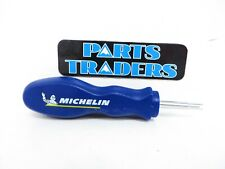 Michelin Tires Air Stem Valve Core Remover Blue Tool Motorcycle Trail Pack