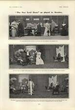 1901 Play Actresses And The Art Of Fencing The Gay Lord Quex In Sweden