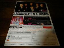 NICK CAVE & THE BAD SEEDS - Publicité de magazine / Advert !!! ROCK & FOLK !!!