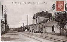 ANCENIS (44) - La Gare - Ligne de Nantes à Paris