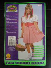 Pre-Owned Girls Red Riding Hood Used Child Costume Size: Sm 4/6