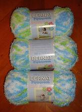 Bernat Pipsqueak Yarn Lot Of 3 Skeins (Funny Bunny Print #59744)