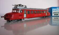 Märklin 3126 locomotive électrique Rouge Flèche Embalage d'origine