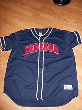 Cleveland Indians Button Front Jersey True Fan XL 46-48