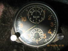 Rare 5 days Soviet Airplane deck chronograph 1MWF